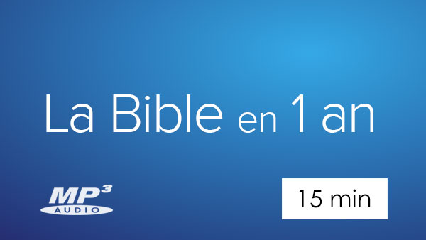 La Bible en 1 an en audio mp3